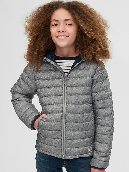 Kids Upcycled Lightweight Puffer