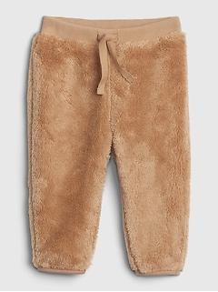 Pantalon en sherpa pour bébé