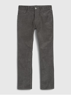 Kids Slim Cord Jeans with Stretch