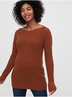 Maternity Boatneck Sweater