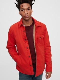 Cozy Shirt Jacket