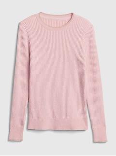 Chandail en tricot côtelé pour enfant