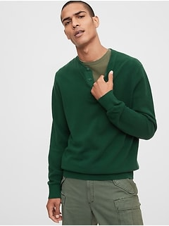 Mainstay Henley Sweater