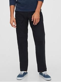 Slim Utility Pants with GapFlex