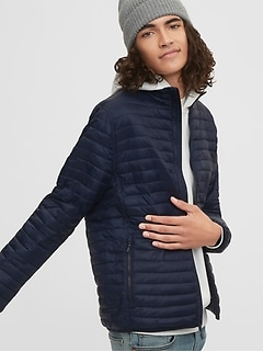 Upcycled Lightweight Puffer Jacket