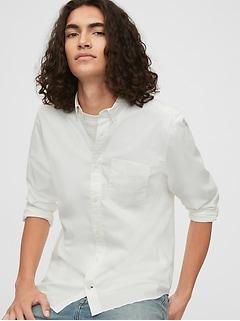 Lived-In Stretch Poplin Shirt In Standard Fit