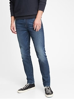 Skinny Taper Jeans with GapFlex