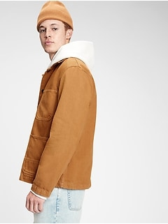 Workforce Collection Twill Utility Jacket
