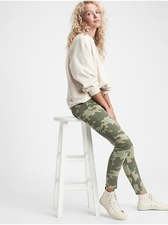 High Rise True Skinny Camo Jeans with Secret Smoothing Pockets With Washwell™