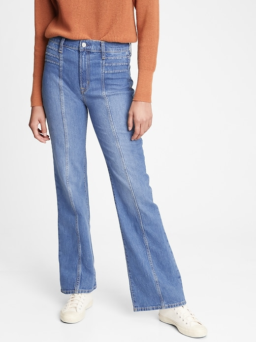 High Rise Vintage Flare Jeans