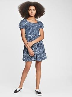 Teen Smocked Dress