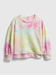 Toddler Tie-Dye Crewneck Sweatshirt