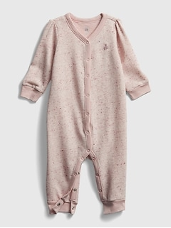 Baby Fleece Long Sleeve One-Piece