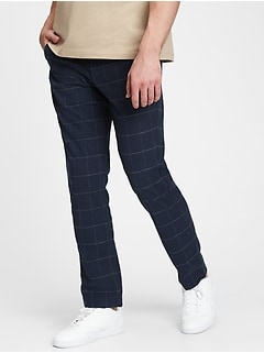 Pantalon avec GapFlex, coupe étroite fuselée