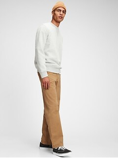 Vintage Khakis in Relaxed Fit with GapFlex