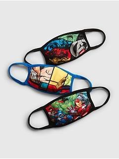 Kids Marvel Face Mask (3-Pack)