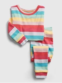 babyGap Happy Stripe PJ Set