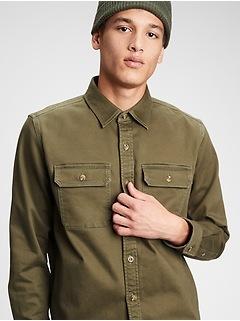 Chamois Shirt Jacket