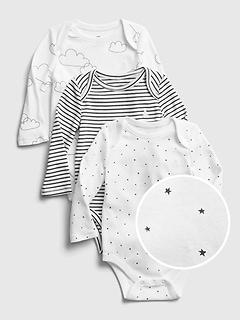 Cache-couche Premiers essentiels pour bébé (paquet de 3)