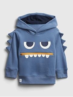 Toddler 3D Flying Monster Hoodie