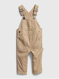 Baby Woven Overalls