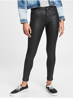 Teen Sky-High Skinny Jeans with Stretch