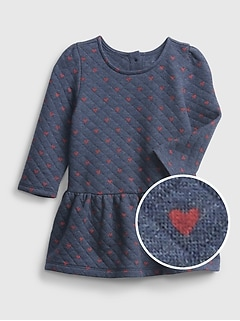 Baby Heart Quilted Dress