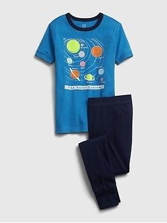 Kids 100% Organic Cotton Solar System PJ Set
