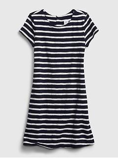 Kids Print Shift Dress