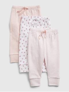 Pantalon Premiers essentiels à enfiler pour Bébé (paquet de 3)