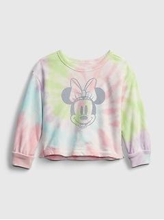 Coton ouaté ras du cou à motif Minnie Mouse babyGap | Disney