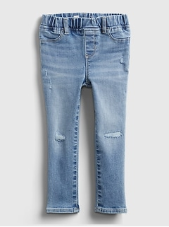 Toddler Distressed Jeggings with Washwell™