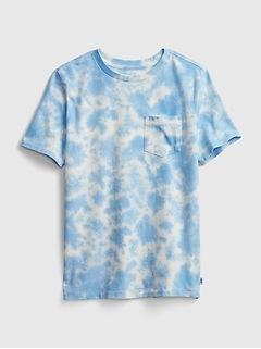 Kids Speckled Tie-Dye T-Shirt