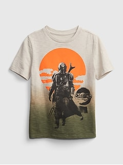 GapKids | Star Wars™ Dip-Dye Graphic T-Shirt