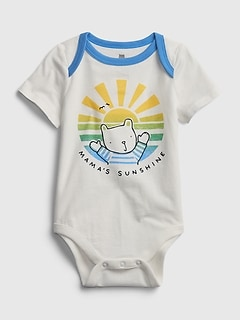 Baby 100% Organic Cotton Mix and Match Bodysuit