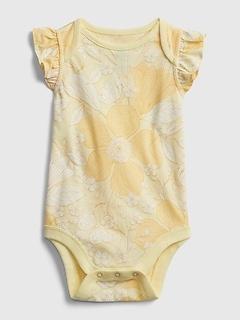 Baby 100% Organic Cotton Mix and Match Print Bodysuit
