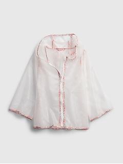 Toddler Clear Rain Jacket