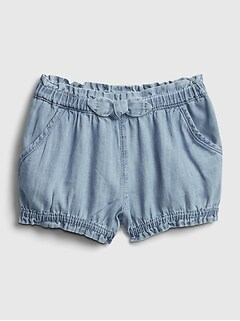 Baby Denim Bubble Shorts