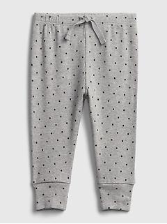 Pantalon en coton biologique à enfiler pour Bébé