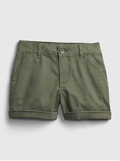 Kids Midi Shorts with Stretch