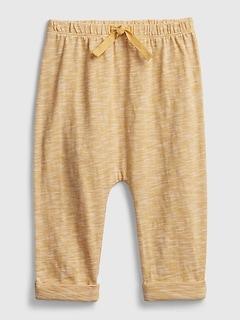 Baby 100% Organic Cotton Pull-On Pants