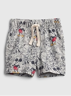 babyGap | Disney Mickey Mouse 100% Organic Cotton  Mix and Match Pull-On Shorts