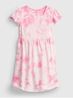 Toddler Tie-Dye Skater Dress