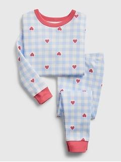 babyGap 100% Organic Cotton Heart PJ Set