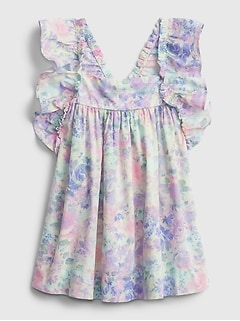 Baby Floral Flutter Dress