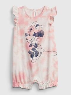 Une-pièce court teint par nœuds Minnie Mouse babyGap | Disney