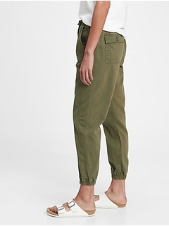 Ribbed Pull-On Joggers with Washwell™