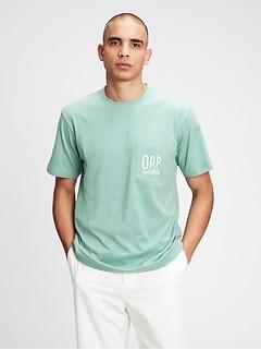 T-shirt à poche avec logo Gap