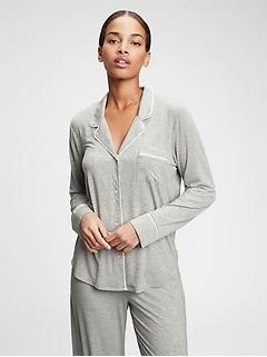 Haut de pyjama Sommeil profond en Modal