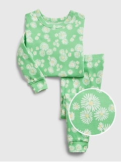 babyGap 100% Organic Cotton Daisy PJ Set